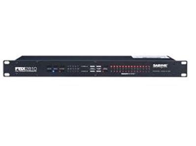 SABINE FBX-2810双通道反馈抑制器