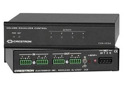 CRESTRON C2N-VEQ4 4信道音量/均衡器模块