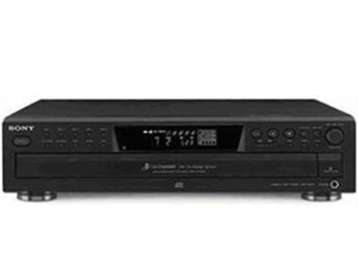 SONY CDP-CE375五碟CD机